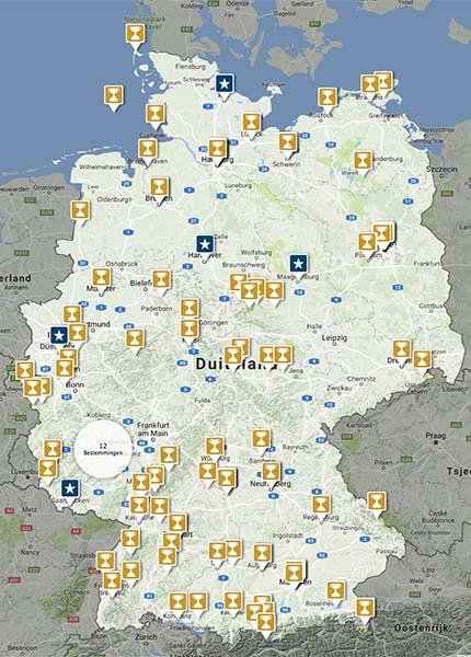 100 Duitse topbestemmingen - Travelvibe
