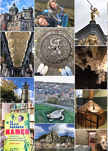 48 uur in de Ardennen regio Namur & Dinant - Travelvibe