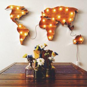 werelds interieur licht