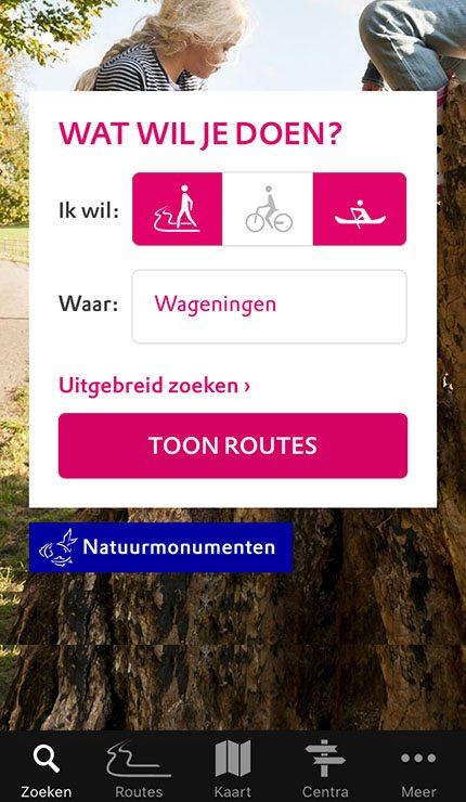 App Natuurmonumenten