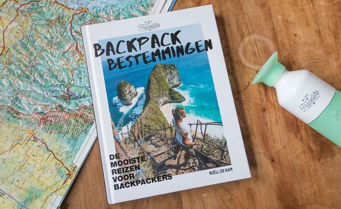 Backpack Bestemmingen Boek - Travelvibe