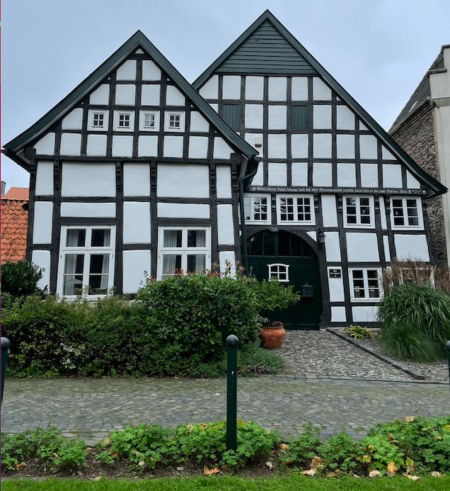 Het oudste vakwerkhuis van Bad Laer