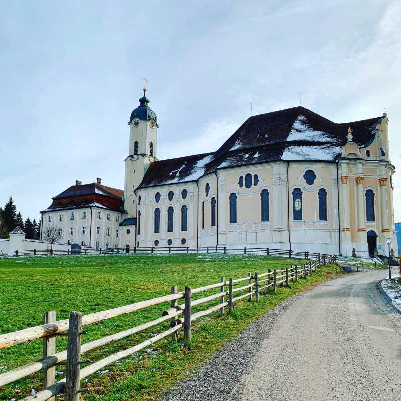 Bedevaartskerk van Wies in Beieren