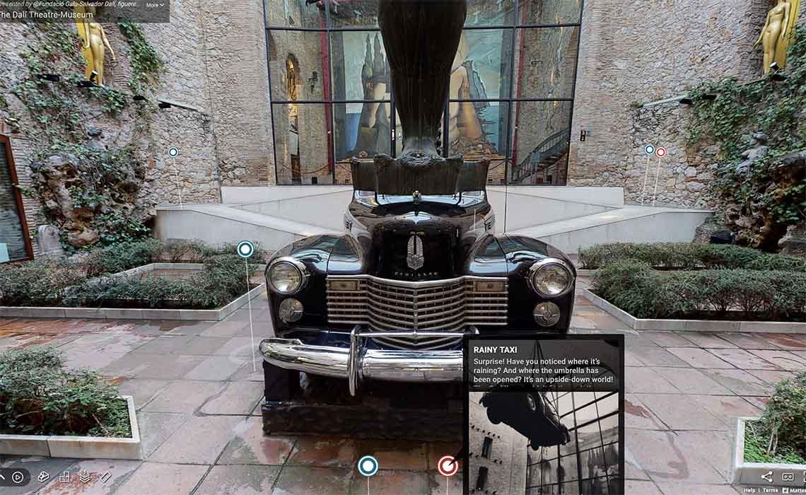 Bezoek het Dali museum online - Travelvibe