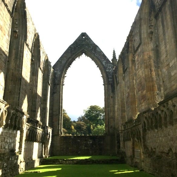 Bolton Abbey inside