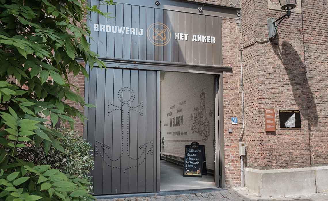 Mechelen. Brouwerij het Anker. - Travelvibe