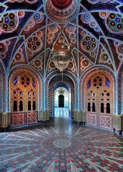 Castello di Sammezzano, Moors paleis in Toscane