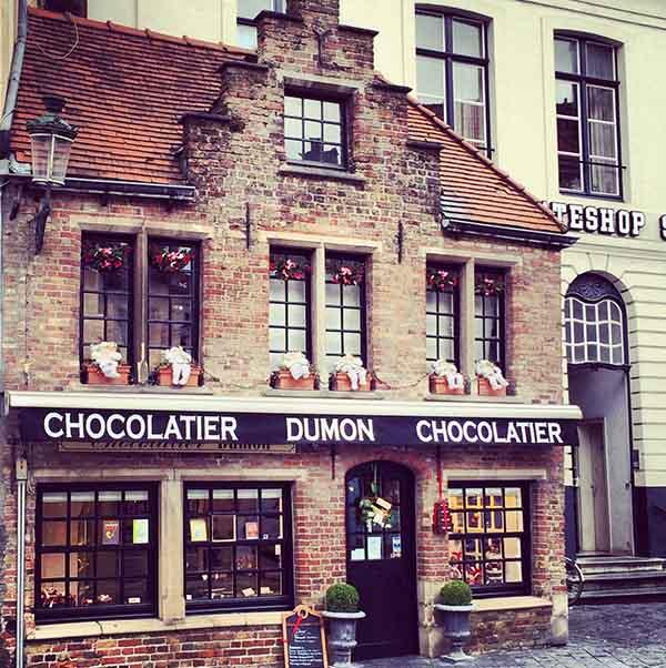 Europese Chocoladebestemming Brugge