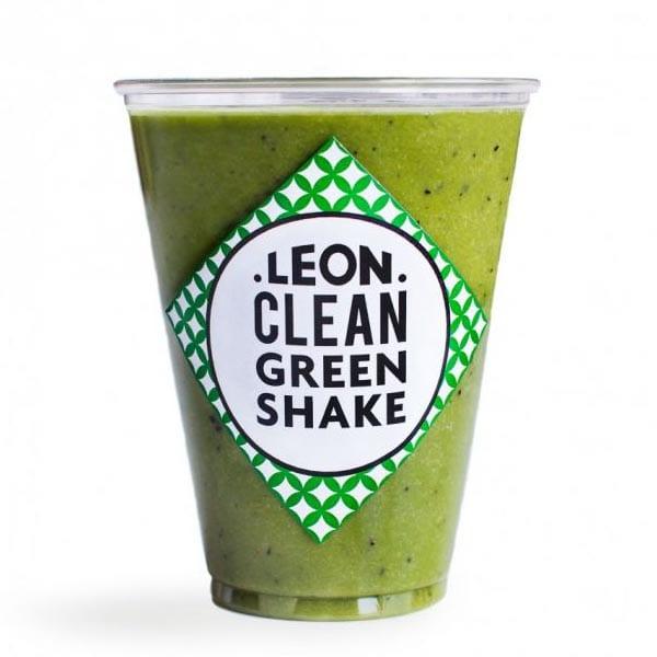 Groene shake van LEON