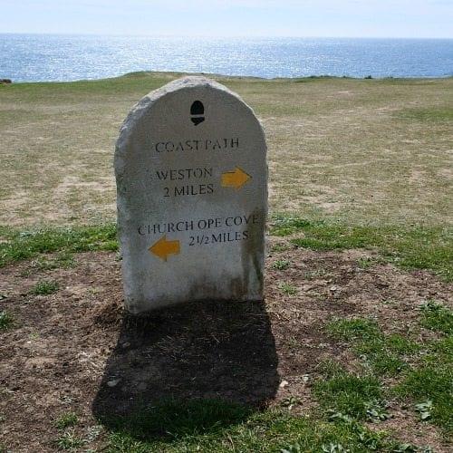Coast path Vakantie Dorset Travelvibe