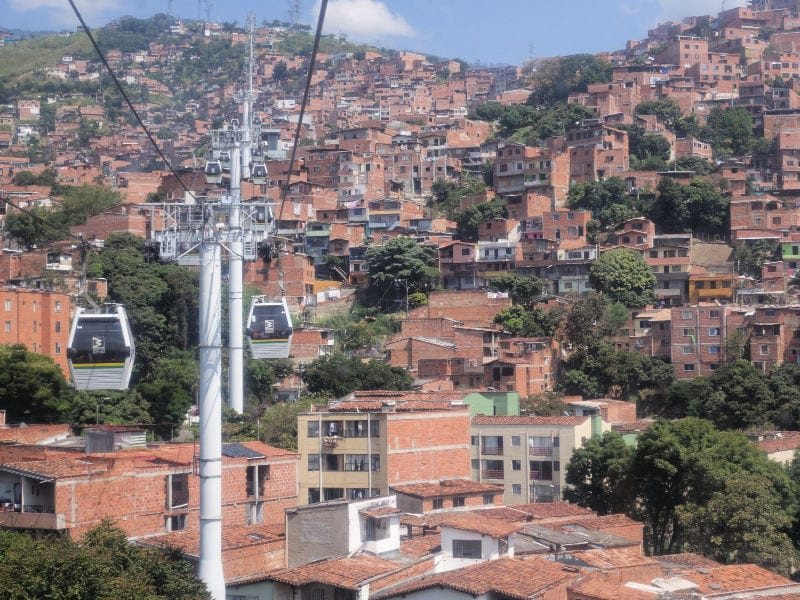 kabelbaan Medellin