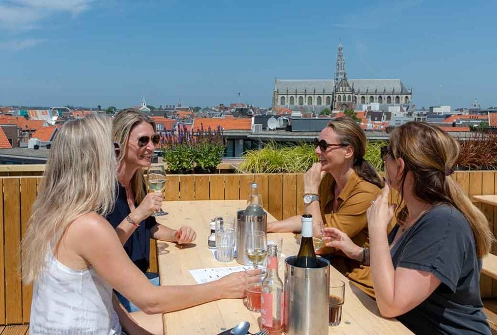 DeDakkas in Haarlem - Hippe Hotspot op dak in Haarlem - Travelvibe