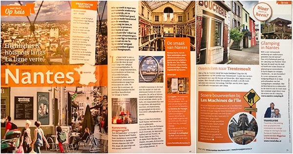 Travelvibe in de media - Dirk vd Broek - Nantes