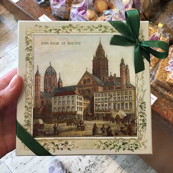Dom van Mainz in konfitorei Mainz - Travelvibe