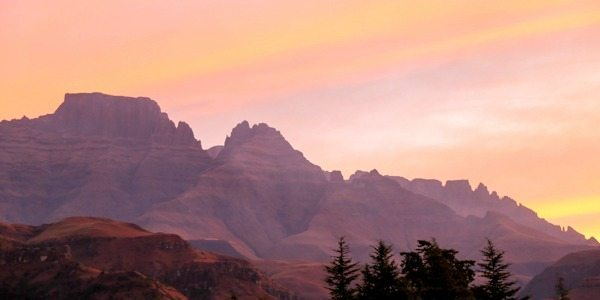 Drakensbergen Zuid-Afrika
