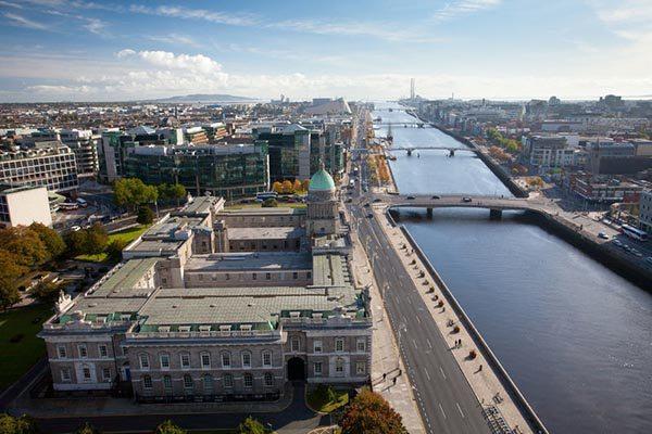 Dublin marathon running