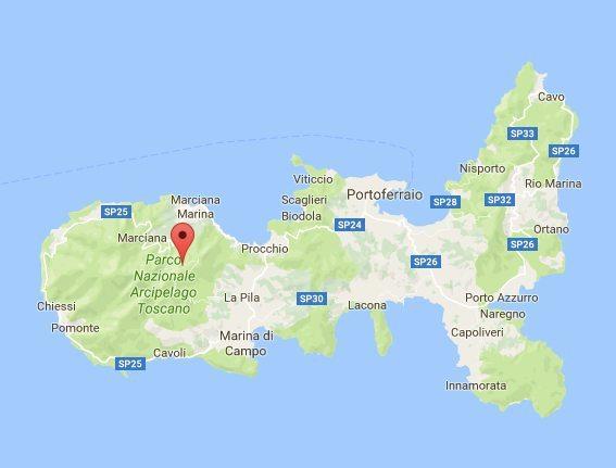 Elba kaart