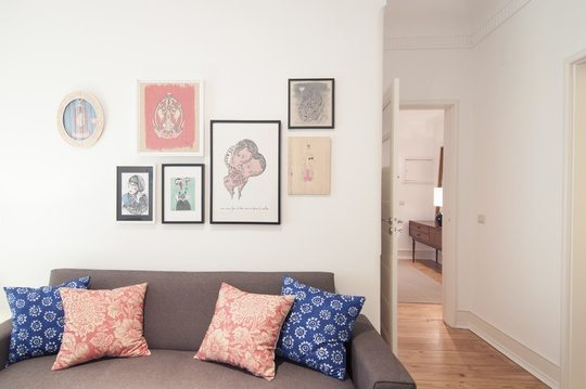 Flattered Apartments Lisboa livingroom - Travelvibe