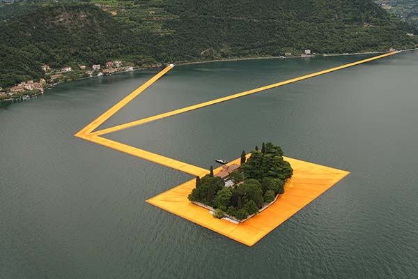 Floating Piers Iseo