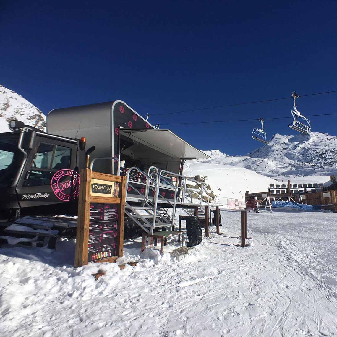 Foodtruck La Folie Douce - Travelvibe