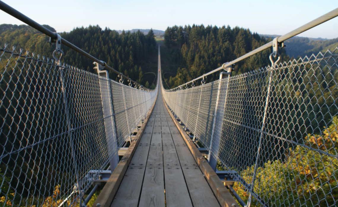 Geierlay hangbrug - Mörsdorf