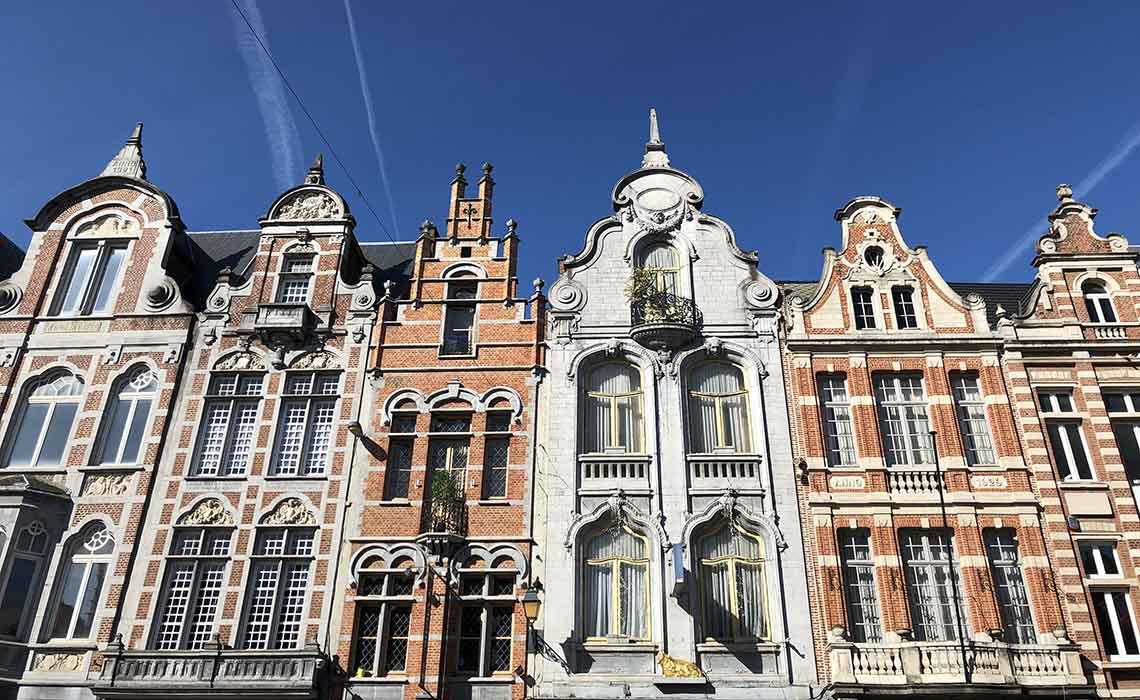 Gevels van Mechelen - Travelvibe