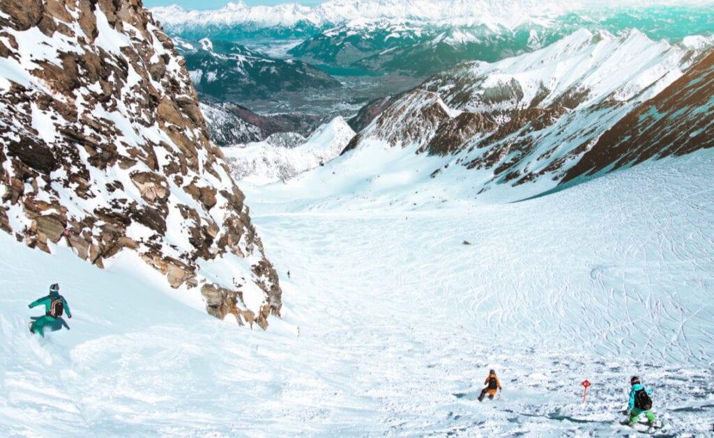 sneeuwzeker skigebied