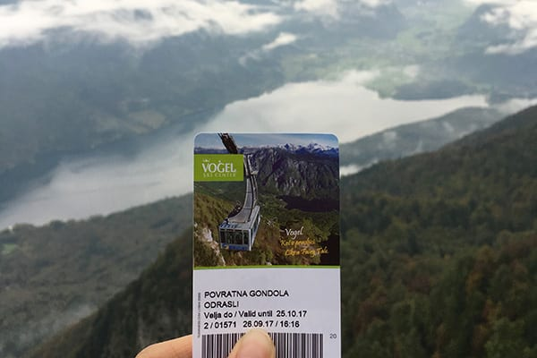 Gondelbaan Vogel bij Bohinj Slovenie - Travelvibe