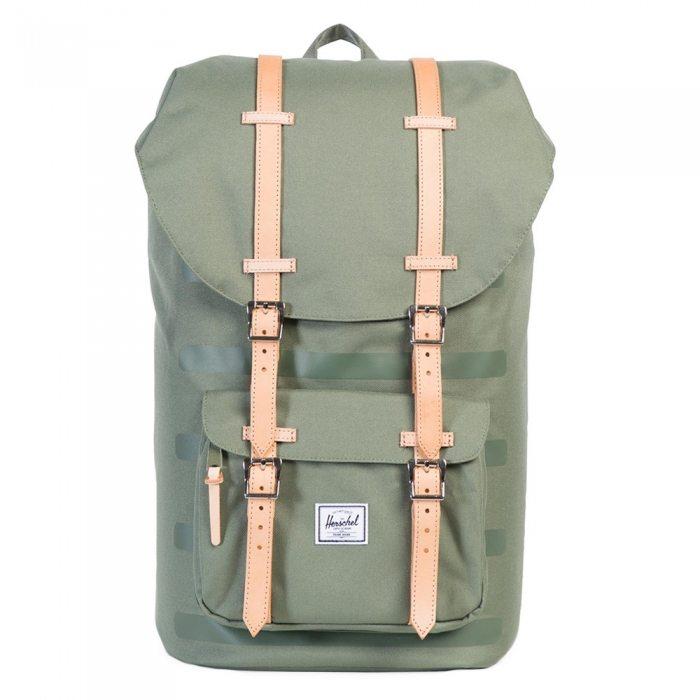 Herschel rugzak groen | Travelvibe