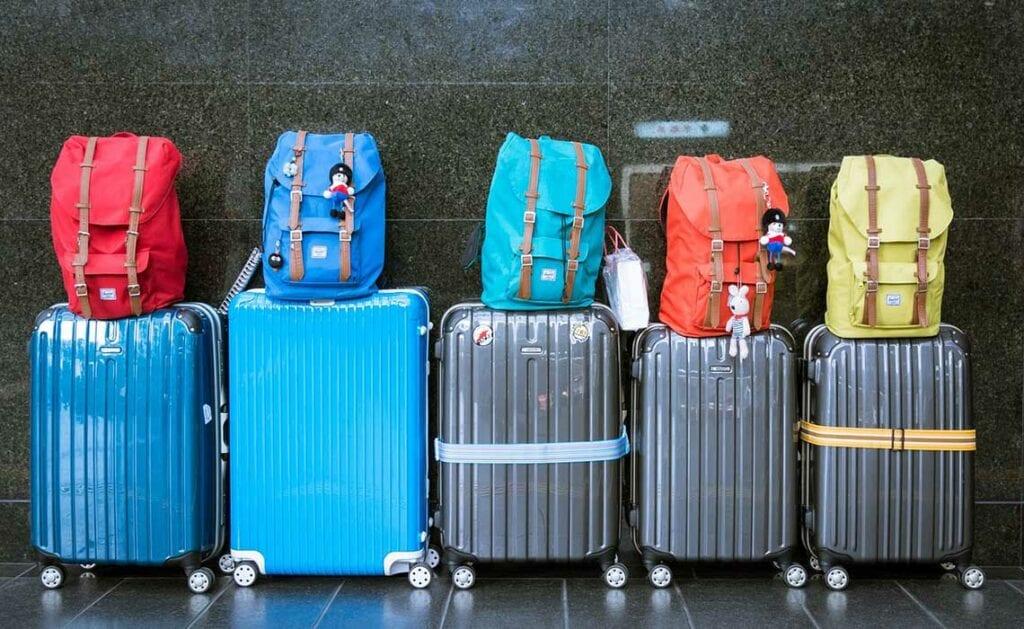 Hoeveel bagage op vakantie - Travelvibe
