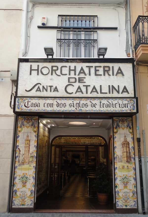 Horchata Valencia - Travelvibe