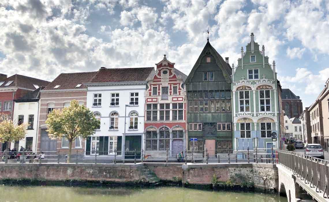 Houten huisjes Mechelen - Travelvibe