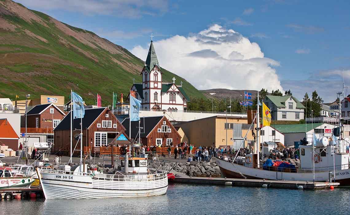 IJsland - Husavik - Travelvibe