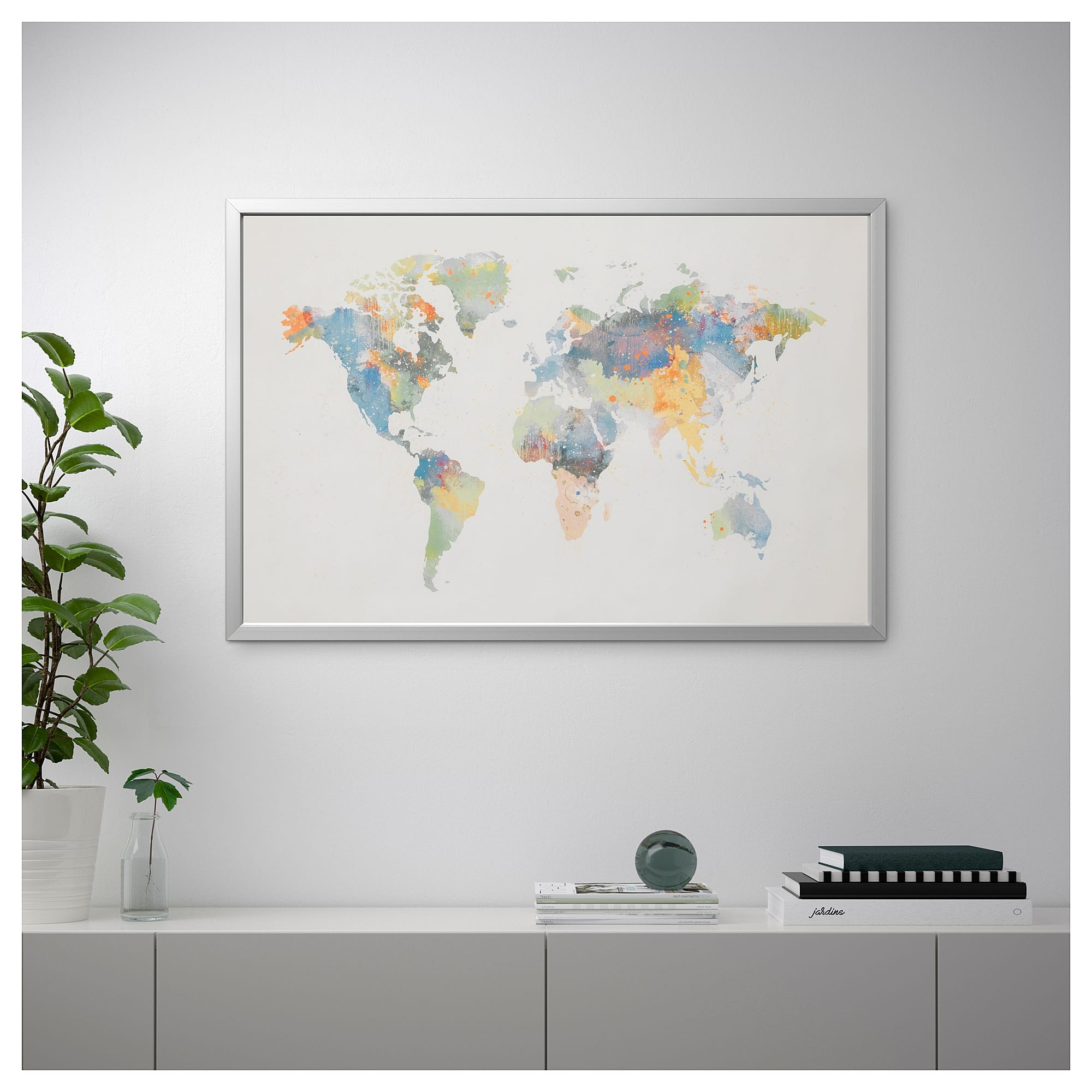 IKEA wereldkaart - Travelvibe
