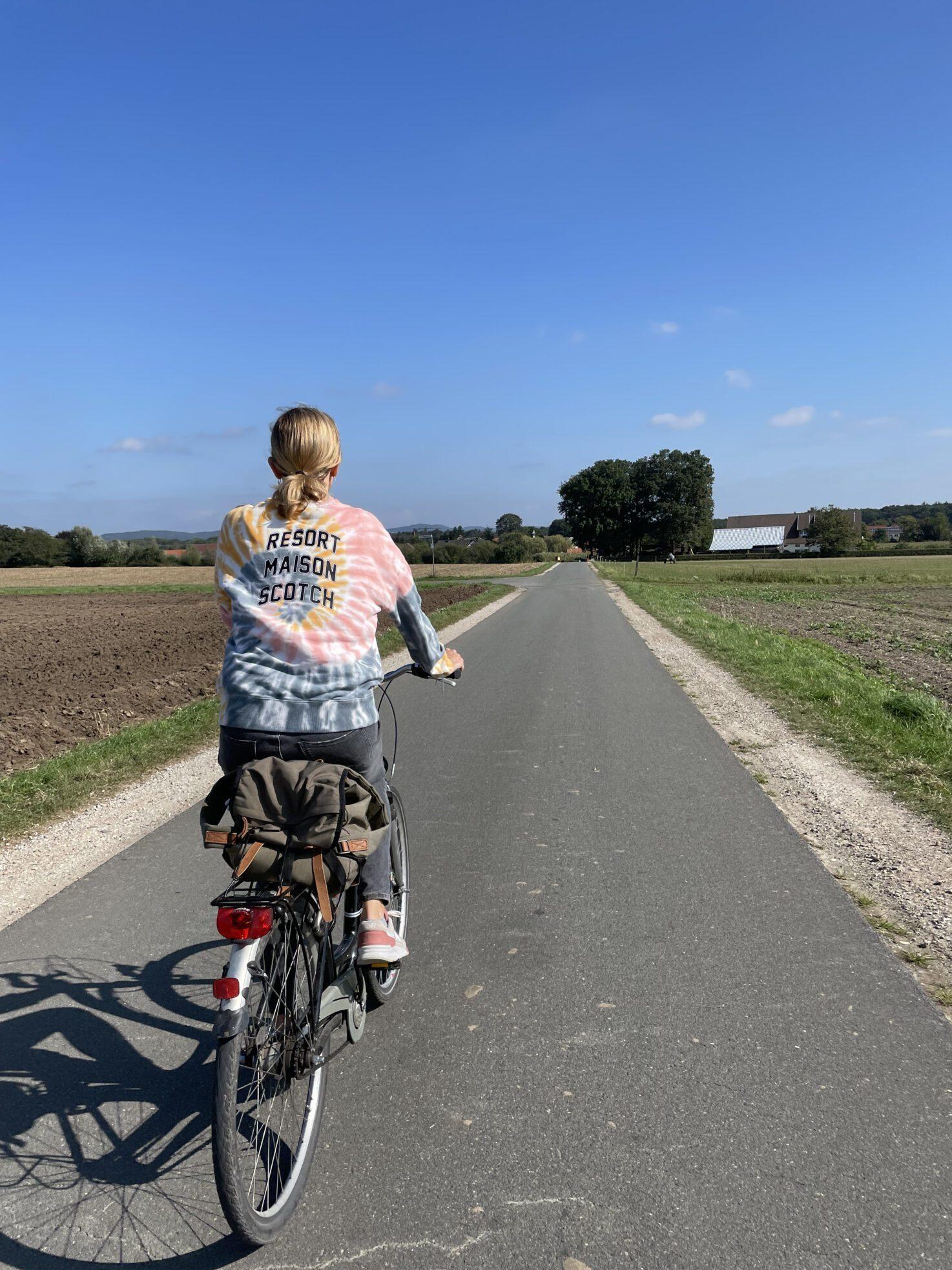 Fijne vlakke fietsroutes...