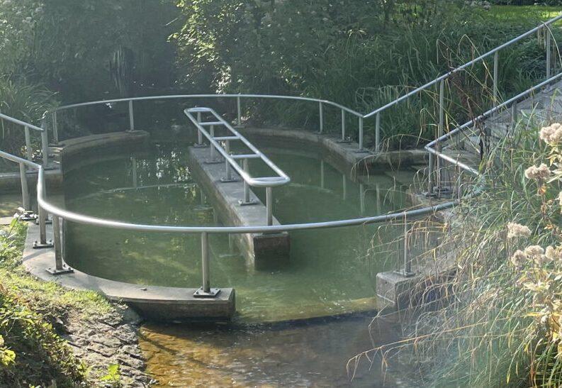 Een speciale plek om te 'pootjebaden'