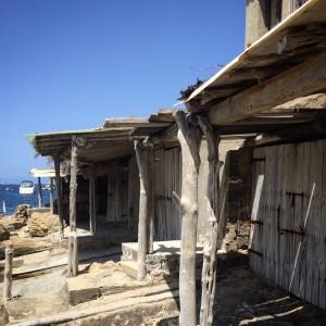 Fishermen houses Ibiza