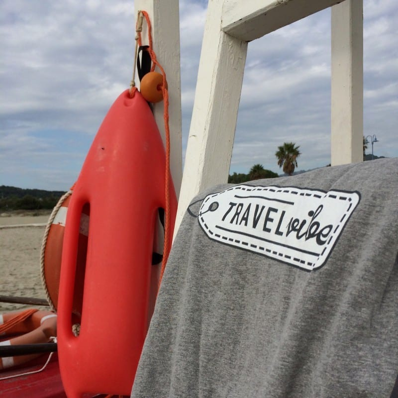 Travelplog Sardinie lifeguard