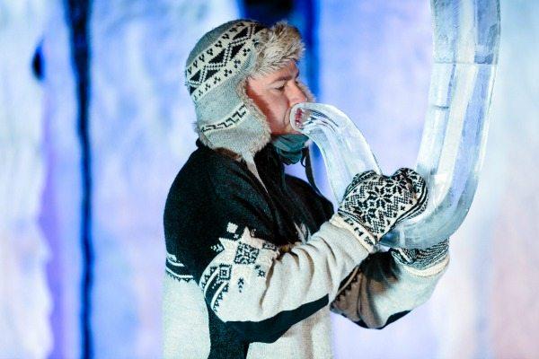 Icemusic Festival Geilo 2017 | Ice instrument