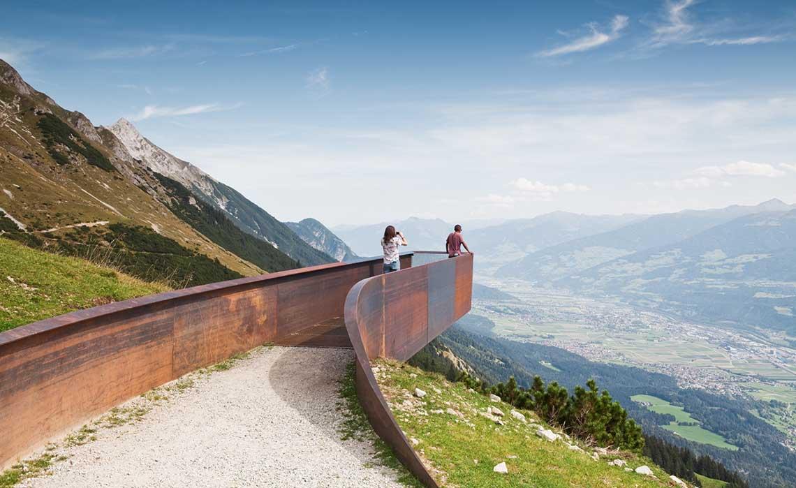Innsbruck Snohetta Perspektivenweg - Travelvibe