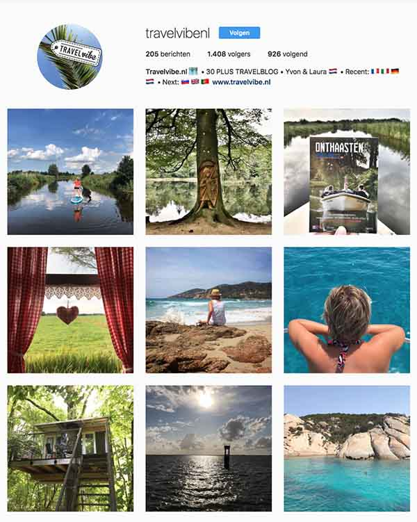 Travel Instagram Feed Travelvibe