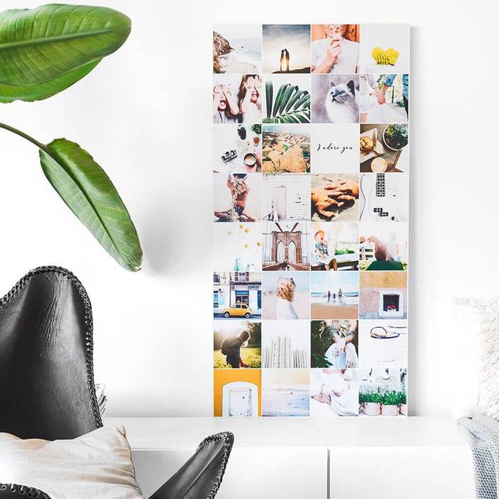 Instawall - instagramfotos aan de muur - Travevlibe
