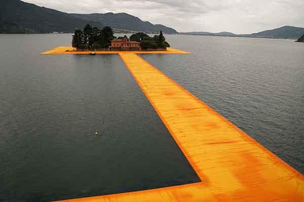 Iseomeer The Floating Piers