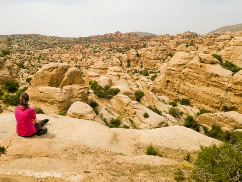 Jordanië - Dana Nationaal Park | Tra