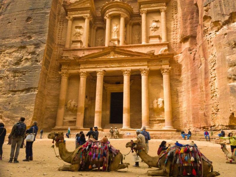 Jordanië - Petra | Travelvibe