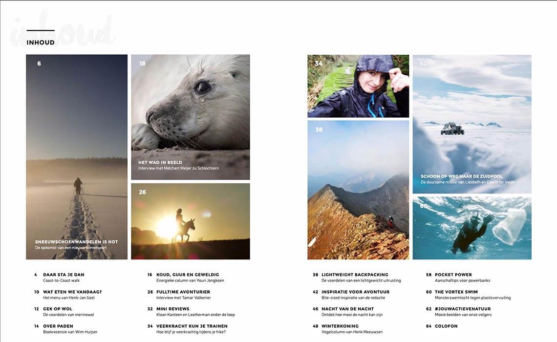 Jouw Actieve Natuur Magazine inhoud