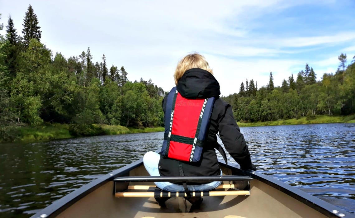 Kano Fins Lapland - Oulanka national park _ Travelvibe