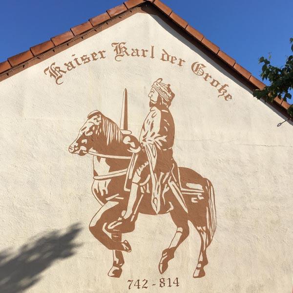 Ingelheim, Karel de Grote