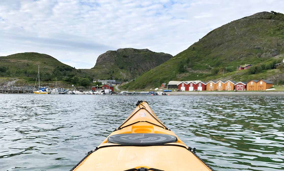 Kayak Norway Stokkoya - Travelvibe