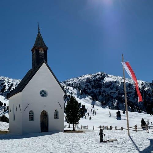Kerkje Dolomieten